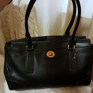 COACH shoulder/tote bag EUC